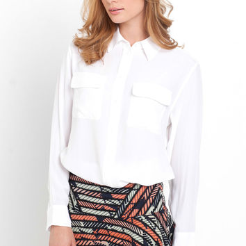 Signature Shirt in Bright White