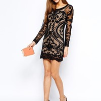 Goldie All Over Lace Body