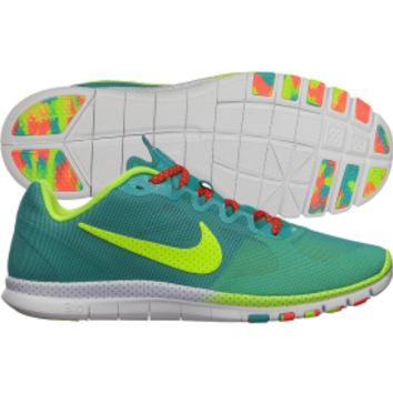 Nike Women's Free Advantage Mesh Caf Training Shoe - Turquoise/Yellow | DICK'S Sporting Goods