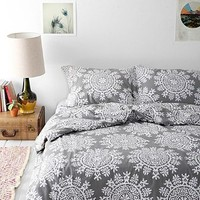 Plum & Bow Maya Medallion Duvet Cover-