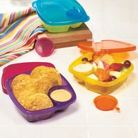Set Of 3 Take A Dip Containers