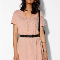 Pins And Needles Becky Disintegrated Tee Dress - Urban Outfitters