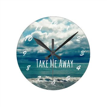 Take Me Away Beach Quote