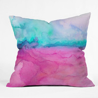 DENY Designs Home Accessories | Jacqueline Maldonado Tidal Color Throw Pillow