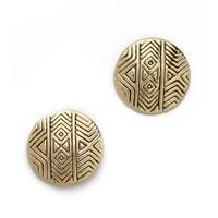 Tholos Mosaic Stud Earrings