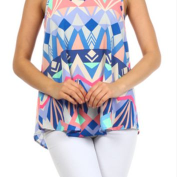 EVERLY: Spring Awake Top - Shoreline Boutique