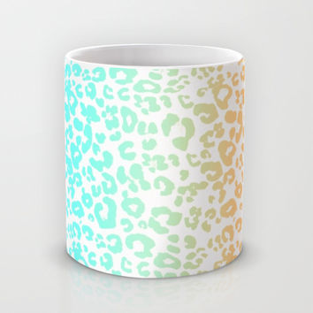 Neon Leopard Mug by Monika Strigel | Society6