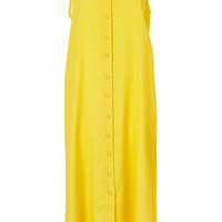 Strappy Button Midi Dress - Beautiful Brights   - Collections  - Topshop