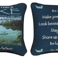 Advice From A Lake Pillow : Log Cabin Styles