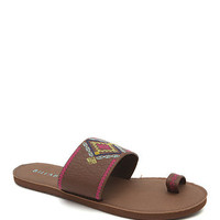 Billabong Moonbeam Sandals - Womens Sandals - Brown -