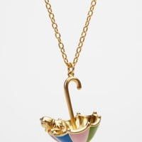 FredFlare.com - Disney Couture Winnie The Pooh Necklace - Winnie The Pooh Umbrella Necklace