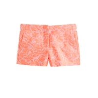 GIRLS' FRANKIE SHORT IN FLORAL JACQUARD