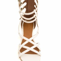 Four Is A Party Strappy Gladiator Sandals - GoJane.com