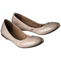 Women's Mossimo Supply Co. Ona Scrunch Ballet Flat