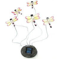 Blinking Dragonflies Solar Lights (Set of 2) | Overstock.com