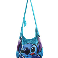 Disney Lilo Stitch Sketch Hawaiian Hobo Bag