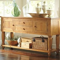 Sumner Entertaining Console | Pottery Barn