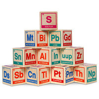 ThinkGeek :: Periodic Table Building Blocks