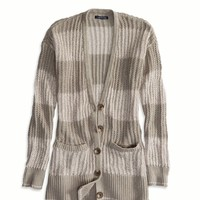 AEO Women's Open Ribbed Cardigan