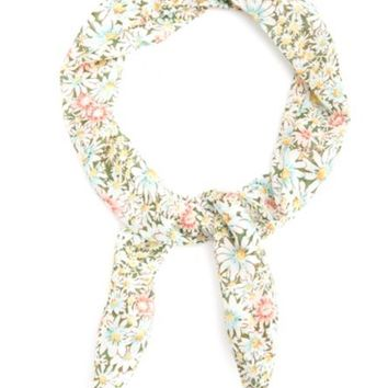 DAISY PRINT WIRED HEADBAND