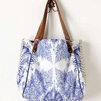 Fresco Tote by Jasper & Jeera Blue One Size Bags
