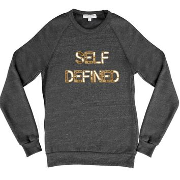 Bow & Drape, sweatshirts, comfy shirts, weekend wear, lounge, soft shirts, customized, selfie, self defined, confident, unique shirt