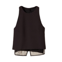 Lightly Quilted Layer Tank Top