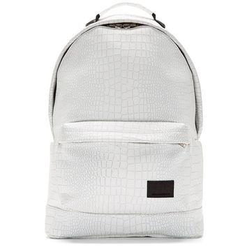 Krisvanassche White Croc Backpack