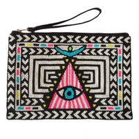 Mara Hoffman | Beaded Eye Pouch
