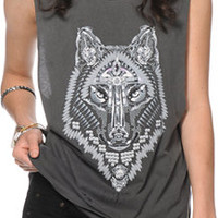 Obey Thunder Wolf Muscle Tee