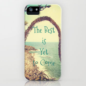 The Best is Yet to Come iPhone & iPod Case by Armine Nersisian