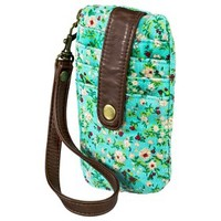 Mossimo Supply Co. Floral Print Credit Card Wallet - Teal