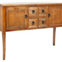 One Kings Lane - Top Tables - Henry Light Oak Sideboard