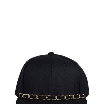 Fancy Chain Snapback