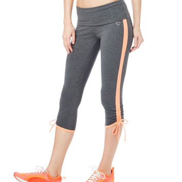 LLD Ruched Yoga Crop Leggings