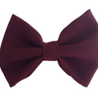 Maroon Bow - Default Title