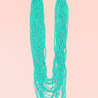 Strands of Summer Necklace