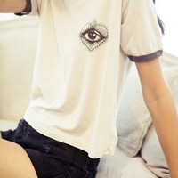 NADINE HEART THE EYE TOP