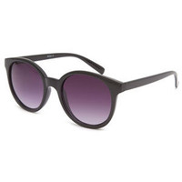 Full Tilt Rock It Round Sunglasses Black One Size For Women 24319910001