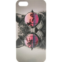 With Love From CA Revo Cat Sunnies iPhone 5/5S Case - Womens Scarves - Multi - NOSZ