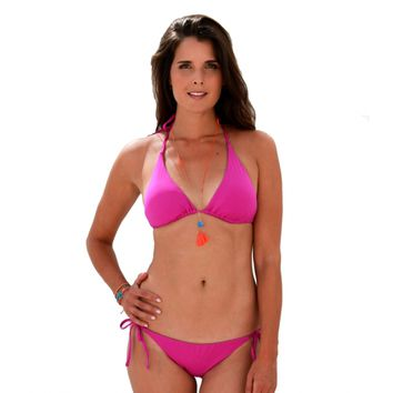 Aspiga | String Purple Two-Piece Bikini by Echo Design