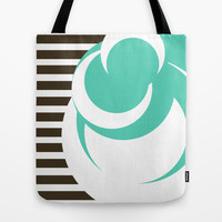 Lines & Dots Tote Bag by Timothy Davis