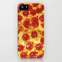 Pepperoni Pizza iPhone & iPod Case by RexLambo