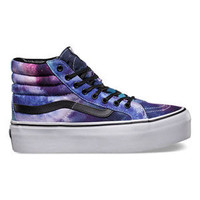 VANS Cosmic Galaxy Sk8-Hi Platform Womens Shoes