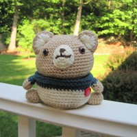 Crochet Bear Doll/Container - CB1 | Luulla