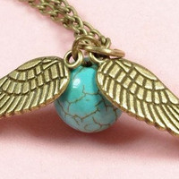 harry potter Enchanted Steampunk turquoise by sweethearteverybody