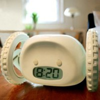 Clocky Alarm Clock on Wheels(CEG108)-Alarm Clock