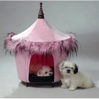 Posh And Pink Pet Bed