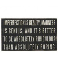 Imperfection saying