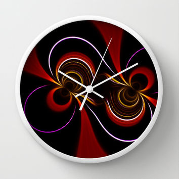 Optical Illusions II Wall Clock by Texnotropio